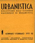 Urbanistica Cover n.1/1933