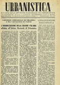 Urbanistica First Page n.4-6/1946