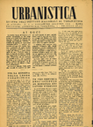 Urbanistica First Page n.5/1945