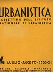 Urbanistica Cover n.4/1933