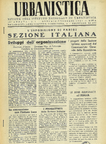 Urbanistica First Page n.1/1947