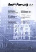 Raumplanung Cover no.152   2010