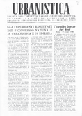 Urbanistica First Page n.4/1948