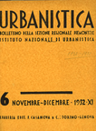 Urbanistica Cover n.6/1932