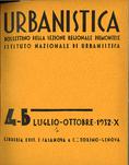 Urbanistica Cover n.4-5/1932