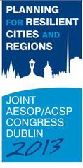 Planum Events 11.2012 </br> AESOP/ACSP Congress Dublin