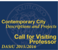 'Contemporary City: Description and Projects' | CALL FOR VISITING PROFESSOR </br> Politecnico di Milano | School of Architecture and Society </br> Department of Architecture and Urban Studies Banner