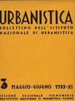 Urbanistica Cover n.3/1933