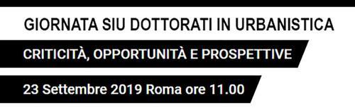 2019.08.07_Giornata_SIU_Dottorati_in_Urbanistica_Banner