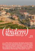 Issue (IBIDEM) no.13 | Planum Readings | Copertina