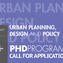 Planum News_Ph.D Urban Planning, Design and Policy Call for Admissions