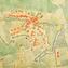 Planum Magazine   no. 42, vol. I/2020   Piano di ricostruzione di Castel d'Aiano (Bologna), 1948 arch. Giorgio Giovannini [Progetto del] Piano di ricostruzione (scala 1:1000)