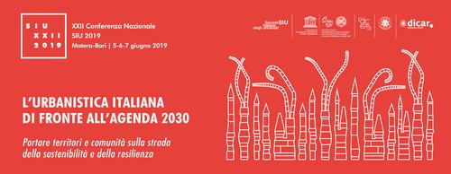 XXII Conferenza Nazionale SIU 2019 | Banner