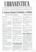 Urbanistica First Page n.3/1948