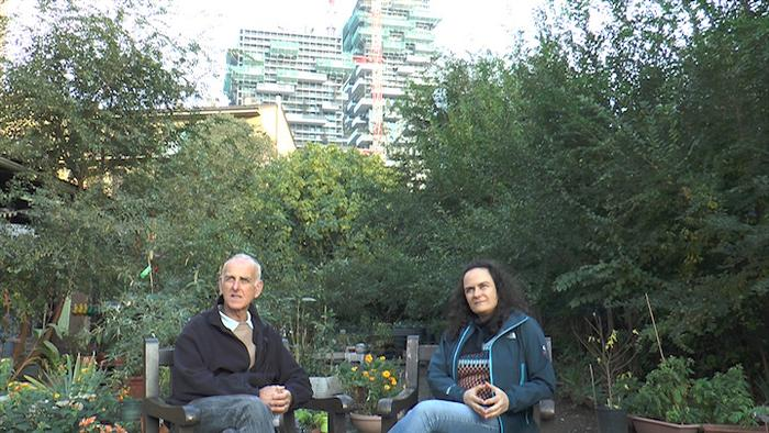 A project for a documentary about community gardens in Milan and ...