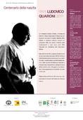 Planum News 09.2011 </br> Centenario della nascita di Ludovico Quaroni (1911-2011)