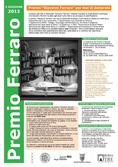 Planum News 06.2013 </br> X Edizione 2013 Premio 'Giovanni Ferraro' per Tesi di Dottorato