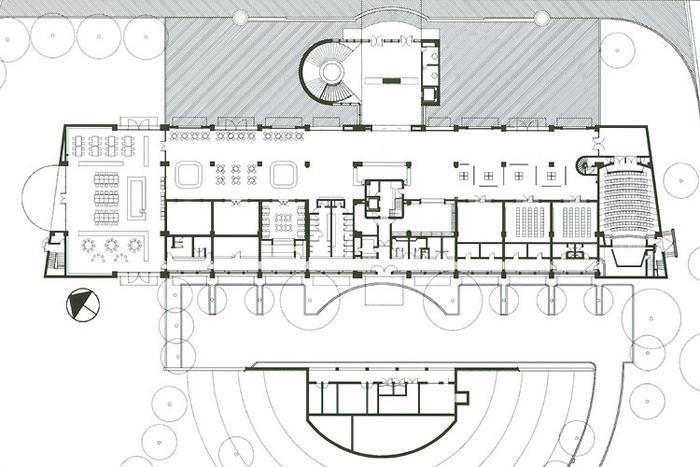 Biblioteca p blica el tintal planum the journal of for Planta arquitectonica biblioteca