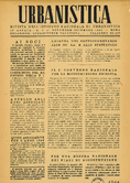 Urbanistica First Page n.6/1945