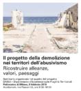 Seminario Il progetto della demolizione nei territori dell'abusivismo DAStU Locandina