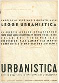 Urbanistica Cover n.5/1942