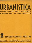 Urbanistica Cover n.2/1933