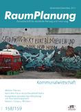 Raumplanung Cover no.158/159