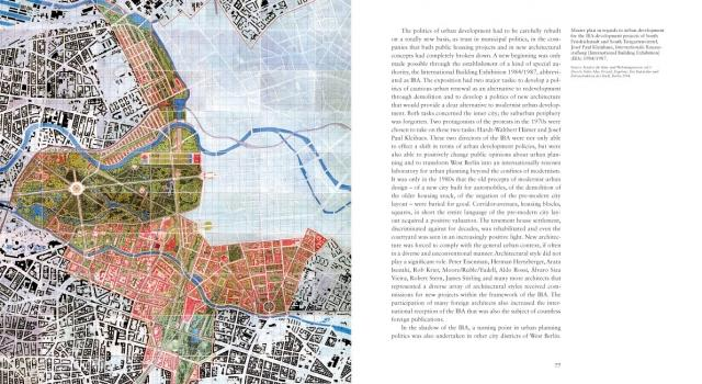Berlin Urban Design A Brief History Of A European City Planum The Journal Of Urbanism