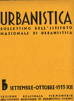 Urbanistica Cover n.5/1933